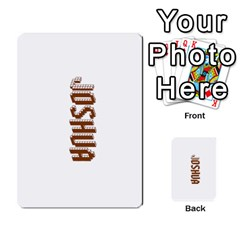 The 3:16 Game Deck 2 By Jighm Brown   Multi Purpose Cards (rectangle)   72pgb3xn6wur   Www Artscow Com Back 1