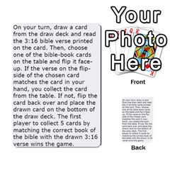 The 3:16 Game Deck 2 By Jighm Brown   Multi Purpose Cards (rectangle)   72pgb3xn6wur   Www Artscow Com Back 53