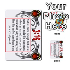 The 3:16 Game Deck 2 By Jighm Brown   Multi Purpose Cards (rectangle)   72pgb3xn6wur   Www Artscow Com Front 28