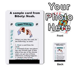 The 3:16 Game Deck 2 By Jighm Brown   Multi Purpose Cards (rectangle)   72pgb3xn6wur   Www Artscow Com Back 45
