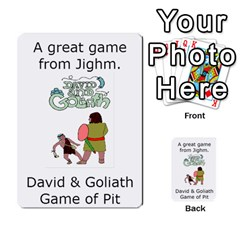 The 3:16 Game Deck 2 By Jighm Brown   Multi Purpose Cards (rectangle)   72pgb3xn6wur   Www Artscow Com Front 47