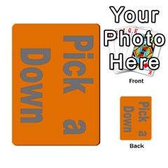 Press Your Luck Deck 1 by Jighm Brown Front 1