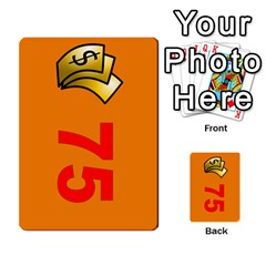 Press Your Luck Deck 1 by Jighm Brown Front 33