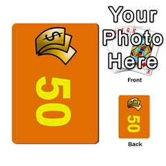 Press Your Luck Deck 1 by Jighm Brown Front 34