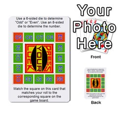 Press Your Luck Deck 1 by Jighm Brown Back 47