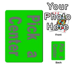 Press Your Luck Deck 3 By Jighm Brown   Multi Purpose Cards (rectangle)   Df3ko85ymqcg   Www Artscow Com Front 2