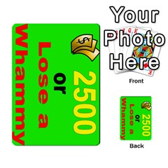 Press Your Luck Deck 3 By Jighm Brown   Multi Purpose Cards (rectangle)   Df3ko85ymqcg   Www Artscow Com Front 11