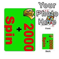 Press Your Luck Deck 3 By Jighm Brown   Multi Purpose Cards (rectangle)   Df3ko85ymqcg   Www Artscow Com Front 16