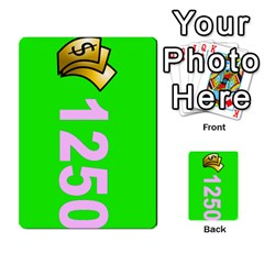 Press Your Luck Deck 3 By Jighm Brown   Multi Purpose Cards (rectangle)   Df3ko85ymqcg   Www Artscow Com Front 18