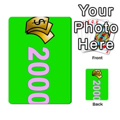Press Your Luck Deck 3 By Jighm Brown   Multi Purpose Cards (rectangle)   Df3ko85ymqcg   Www Artscow Com Front 25