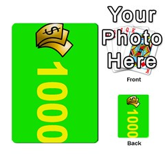 Press Your Luck Deck 3 By Jighm Brown   Multi Purpose Cards (rectangle)   Df3ko85ymqcg   Www Artscow Com Front 30
