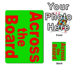 Press Your Luck Deck 3 By Jighm Brown   Multi Purpose Cards (rectangle)   Df3ko85ymqcg   Www Artscow Com Front 4
