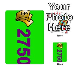 Press Your Luck Deck 3 By Jighm Brown   Multi Purpose Cards (rectangle)   Df3ko85ymqcg   Www Artscow Com Front 35