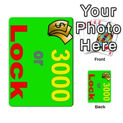 Press Your Luck Deck 3 By Jighm Brown   Multi Purpose Cards (rectangle)   Df3ko85ymqcg   Www Artscow Com Front 37