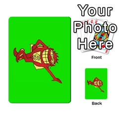 Press Your Luck Deck 3 By Jighm Brown   Multi Purpose Cards (rectangle)   Df3ko85ymqcg   Www Artscow Com Front 41