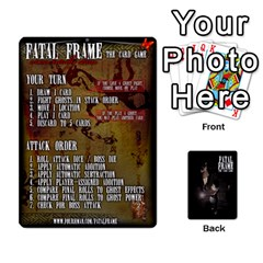 Queen Fatal Frame Deck 3 Front - HeartQ