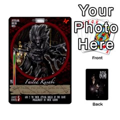King Fatal Frame Deck 3 Front - HeartK