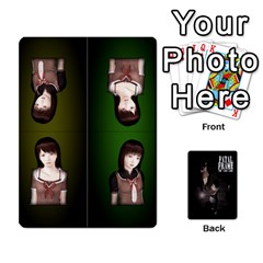 Fatal Frame Deck 3   Locations And Setup By Heavenslaughing   Playing Cards 54 Designs   52y8v3e10kk1   Www Artscow Com Front - Club9