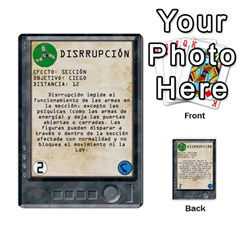 Cartasgen001 By Carlos Fernandez   Multi Purpose Cards (rectangle)   8bnfnksamiku   Www Artscow Com Front 9