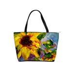 Single Sunflower - Classic Shoulder Handbag