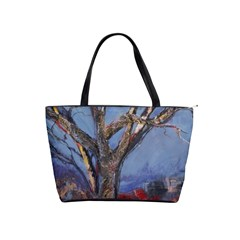 Relief Of A Tree By Alana   Classic Shoulder Handbag   Urbbypf6dw1d   Www Artscow Com Front