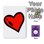 MEMORY GAME, COPY IT AND PERSONALIZED - Playing Cards 54 Designs