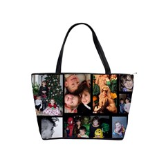 Collage Bag By Crystal West   Classic Shoulder Handbag   Jf9qm80wy4by   Www Artscow Com Front