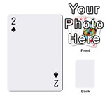 54 Playing Card Shape 1 - Playing Cards 54 Designs