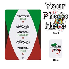 Italian Rails First 54 By Spotlight Games   Playing Cards 54 Designs   Phwd7v1vnz17   Www Artscow Com Front - Heart3