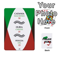 Queen Italian Rails First 54 By Spotlight Games   Playing Cards 54 Designs   Phwd7v1vnz17   Www Artscow Com Front - HeartQ