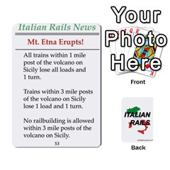Italian Rails First 54 By Spotlight Games   Playing Cards 54 Designs   Phwd7v1vnz17   Www Artscow Com Front - Joker1