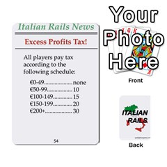 Italian Rails First 54 By Spotlight Games   Playing Cards 54 Designs   Phwd7v1vnz17   Www Artscow Com Front - Joker2