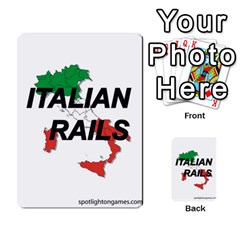 Italian Rails First 54 By Spotlight Games   Playing Cards 54 Designs   Phwd7v1vnz17   Www Artscow Com Back