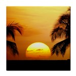 Sun-Set Tile Coaster