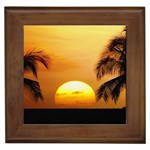 Sun-Set Framed Tile