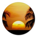 Sun-Set Round Mousepad