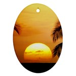 Sun-Set Ornament (Oval)