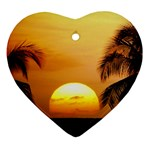 Sun-Set Ornament (Heart)