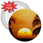 Sun-Set 3  Button (100 pack)