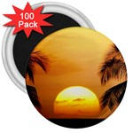 Sun-Set 3  Magnet (100 pack)