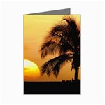 Sun-Set Mini Greeting Card