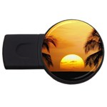 Sun-Set USB Flash Drive Round (1 GB)