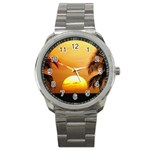 Sun-Set Sport Metal Watch