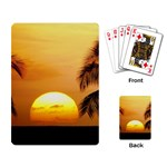 Sun-Set Playing Cards Single Design
