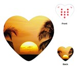 Sun-Set Playing Cards (Heart)