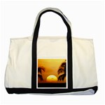 Sun-Set Two Tone Tote Bag