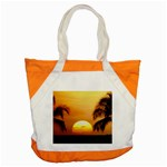 Sun-Set Accent Tote Bag
