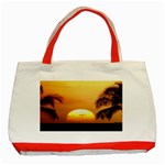 Sun-Set Classic Tote Bag (Red)