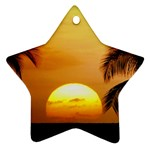 Sun-Set Star Ornament (Two Sides)