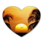 Sun-Set Mousepad (Heart)